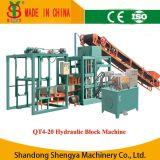 Small Hydraulic Price Concrete Block Machine (QT4-20)