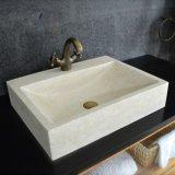 Grade a Rectangular Natural Stone Vessel Sink