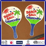 Factory Price OEM Logo Wood Beach Racket