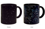 Magical Fashion Zodiac Heat Reactive Color Changing Ceramic Star Coffee Mug