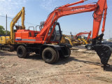 Used Hitachi Wheel Excavator Ex100wd Original Japan Machine