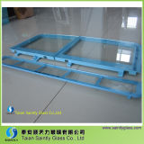 Clear Tempered Glass Panel for Washing Machine/ Home Appliance Parts