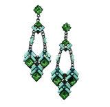Trendy Bohemia Style Resin Stone Earring (XER13065)