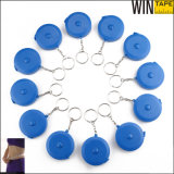 (150cm 60inch) Blue Retractable Flexible Ruler with Key Chain (RT-119)