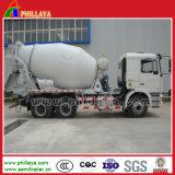 2 Axles 3 Axles Cement Mixer Truck Concrete Mixer Transport Semi Trailer Truck