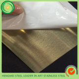 304 Stainless Steel Sheet Hairline Satin Finished for Kitchen Fabrication