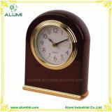 Hotel Wooden silent Mahogany Alarm Clock