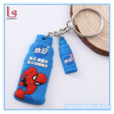 Creative Advertising Festival Gifts PVC Soft Rubber Key Chain Customized