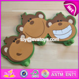 New Design Cartoon Monkey Children Wooden Door Hooks W09b072