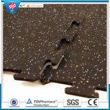 Low Maintenance Gyms Rubber Floor, Rubber Mat, Rubber Tiles