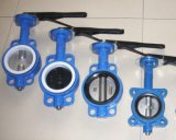 Wafer Type Butterfly Valve with Lever