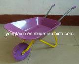 Kids Metal Wheelbarrow Toy for 3-6 Years