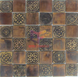 American Style Copper Mosaic Tile with Resin (CFM867)