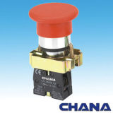 Push Button Switch (CB2)-Mushroom Button Spring Return