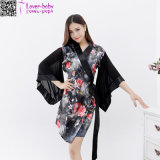 New Designs Women′s Sleeping Wear Kimono Nightwear L28209-4