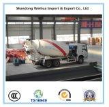 Sinotruk HOWO 6X4 9cbm Cement Mixer Concrete Mixer Truck Manufacturer