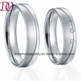 Handmade Jewelry Ring Top Quality Wedding Band Europe Style Couple Rings