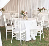 White Resin Chiavari Chairs for Events