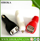 Hot & New Dual USB Output 5V 2100mA USB Mini Car Charger 12V 2A USB Car Charger for Apple iPhone Android Phones