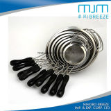 High Quality Kitchenware Stainless Steel 304 Kitchen Strainer with Handle