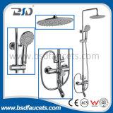 Exquisite European Health Brass Bath Faucet Shower Set