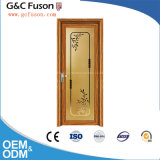 Made in China Manufaturer Aluminum Casement Door with Frosted Glass