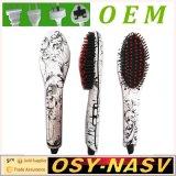 2016 New Design Portable Electric Ceramic Nasv Hair Straightener Brush,