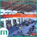 China Professional Crane Lh Model Double Beam Overhead Crane Manufacturer