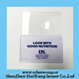 Plastic Magnifying Glass Business Cards for Printing (HW-813)