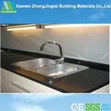 Smooth Solid Face Artificial Quartz Stone for Kitchen Countertop, Tile