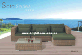 Hot Sale Sofa Set Wicker Furniture Outdoor Patio Furniture Bp-M12