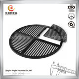 Sand Casted Foundry Customized Iron Grill with Sand Blasting Finish