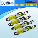 Auto, Motorcycle Rigging Ratchet Tie Down Straps