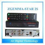 Original Zgemma-Star 2s Twin Tuner DVB-S2+S2 Satellite Receiver Original Support