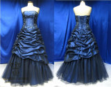 Taffeta Bridal Ball Gown Prom Dresses