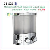 Manual ABS Wall Mounted Liquid Soap Dispenser 500ml