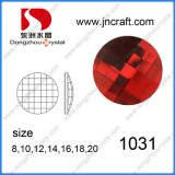 Wholesale Flatback Sew on Round Crystal Glass Beads for Dresses