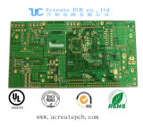Multilayer Blue Soldermask Printed Circuit Board with Chemical Gold