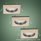 Square GU10 MR16 Spotlight Recessed Ceiling Downlight Fixture