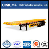 Cimc 40FT 3-Axle Container Platform Trailer