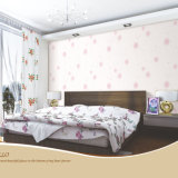 Romantic Bed Room Wall Paper with Cheap Price