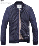 Latest-Design Spring/Autumn Wind-Proof Men′s Fashion Zipper Joint Jacket