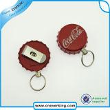 Bottle Cap Advertising Badge Reel