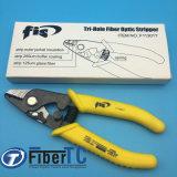 High Precision Fis F11301t Tri-Hole Fiber Optic Stripper 3 Hole Jacket Fiber Optic Strippers