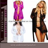 Sexy Women Lace Plus Size Chemise Nightwear Lingerie (T22530)