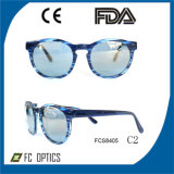 Acetate Sunglasses with Cr39 Revo Lens, Accept Customrized Your Logo