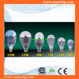 Energy Saving E27 Base 9W LED Bulb with CE RoHS