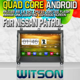 Witson S160 Car DVD GPS Player for Nissan Patrol with Rk3188 Quad Core HD 1024X600 Screen 16GB Flash 1080P WiFi 3G Front DVR DVB-T Mirror-Link Pip (W2-M154)