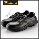 CE Certificate Black ESD Chef Shoes Dustman Safety Shoes L-7196
