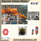 7.5ton Double Speed CE Certificated New Design Electric Chain Hoist Remote Control